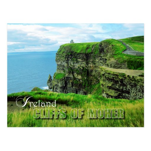 Cliffs of Moher, County Clare, Ireland Post Card