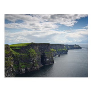 Cliffs of Moher in Ireland postcard