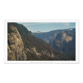 """Cliffsides and River Rides,"" Yosemite Nature Art Photo"