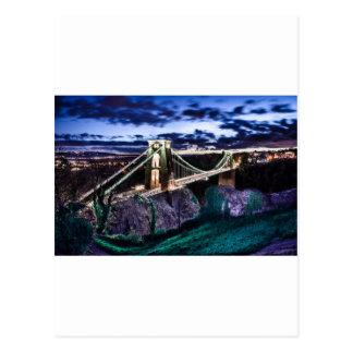 Clifton Bridge CL Postcard