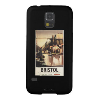 Clifton Suspension Bridge and Boats Case For Galaxy S5