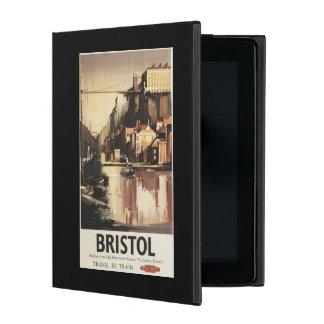 Clifton Suspension Bridge and Boats iPad Folio Case