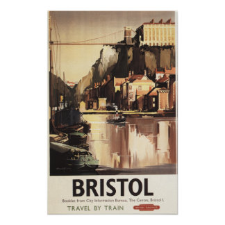 Clifton Suspension Bridge and Boats Posters
