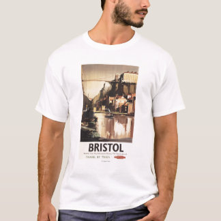 Clifton Suspension Bridge and Boats T-Shirt