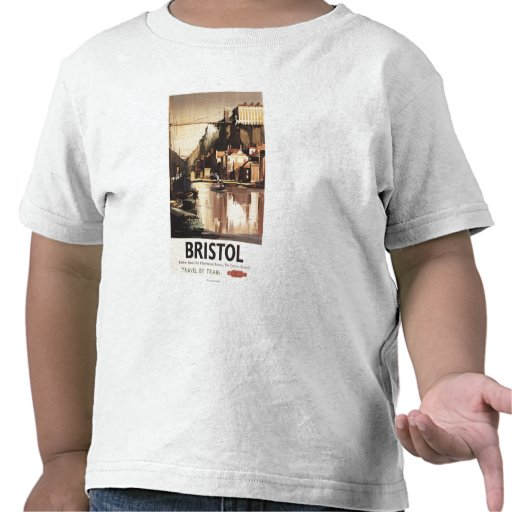 Clifton Suspension Bridge and Boats Tee Shirts