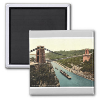 Clifton suspension bridge from the north east clif magnet