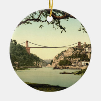 Clifton Suspension Bridge I, Bristol, England Christmas Ornament