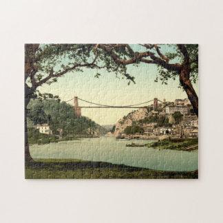 Clifton Suspension Bridge I, Bristol, England Puzzles