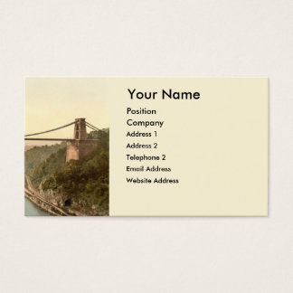Clifton Suspension Bridge II, Bristol, England Business Card