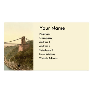Clifton Suspension Bridge II, Bristol, England Pack Of Standard Business Cards