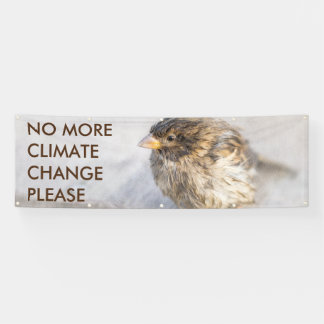 Climate change awareness banner