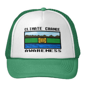 Climate Change Awareness Trucker Hat