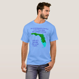 CLIMATE CHANGE - Blue t-shirt 3