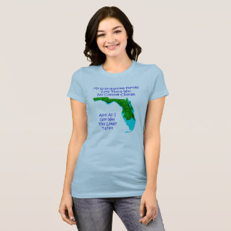 CLIMATE CHANGE - Blue women's 3 T-Shirt