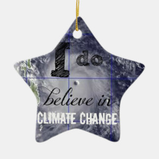Climate Change Christmas Ornament