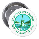 Climate Change Pinback Buttons