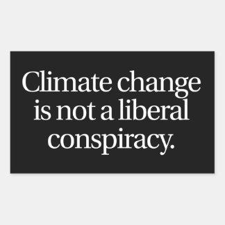 Climate Change Sticker