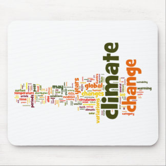 climate change two mouse mat