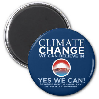 Climate Change - Yes We Can Obama Parody Magnet