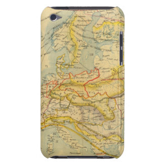Climate of Europe Map iPod Touch Case