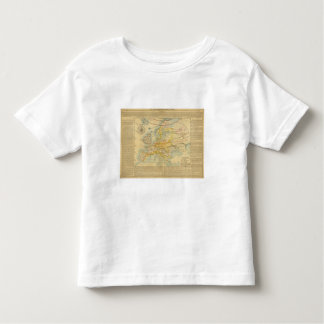 Climate of Europe Map Toddler T-Shirt