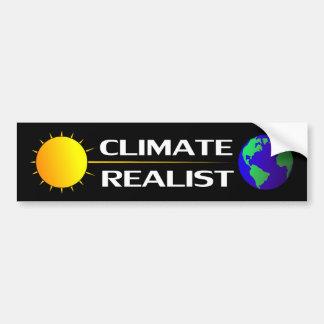 Climate Realist Bumper Sticker