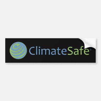 ClimateSafe Logo Bumper Sticker (Black)