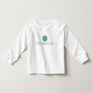ClimateSafe Toddler Long-Sleeve T-Shirt (White)