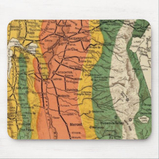 Climatic map of California Mouse Mat