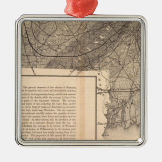 Climatol Massachusetts Christmas Ornament