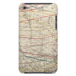 Climatological map of Wisconsin iPod Case-Mate Cases