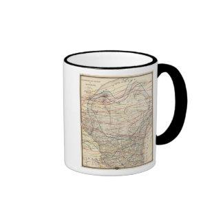 Climatological map of Wisconsin Ringer Mug