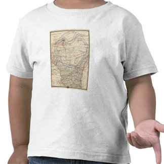 Climatological map of Wisconsin Shirt