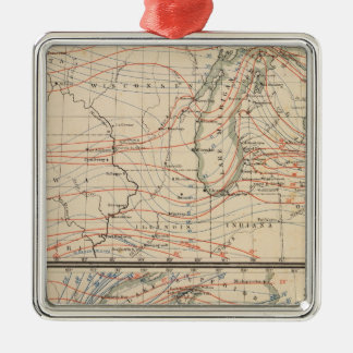 Climatology of Michigan Atlas Mao Christmas Ornament