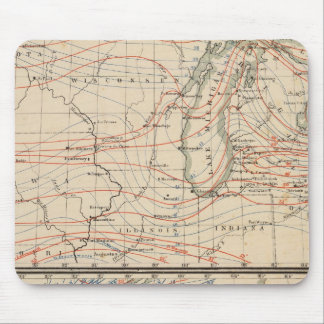 Climatology of Michigan Atlas Mao Mouse Mat