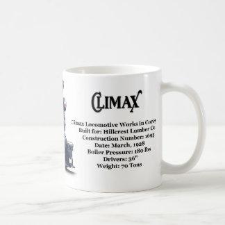 Climax Logging Locomotive Coffee Mug