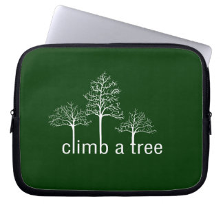 Climb a tree design laptop sleeve