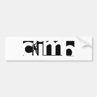 Climb Bumper Sticker