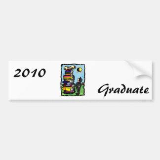 Climb for that Diploma Car Bumper Sticker