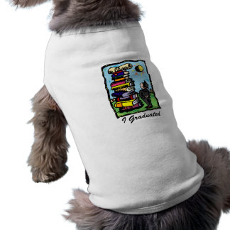 Climb for that Diploma Doggie T Shirt