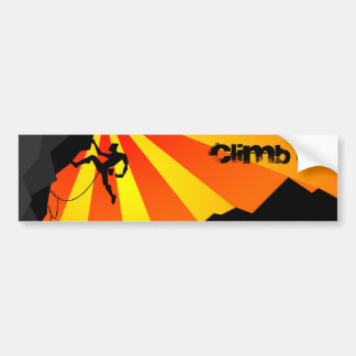 climb it bumper sticker