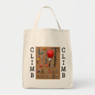 """Climb"" Mountaineering Gear Tote Bag"