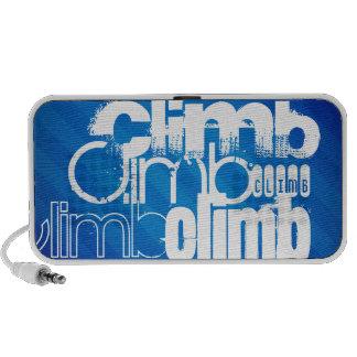 Climb; Royal Blue Stripes PC Speakers