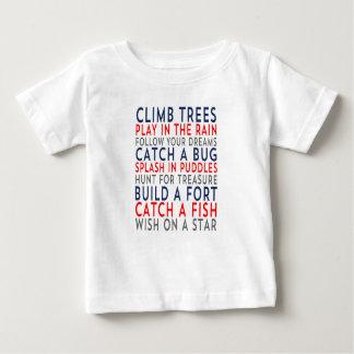 Climb Trees 01 Baby T-Shirt
