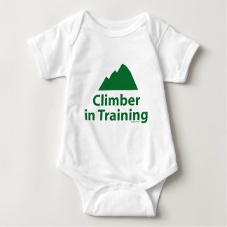 Climber in Training Baby Bodysuit