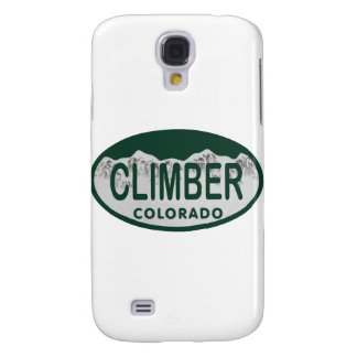 climber license oval galaxy s4 covers