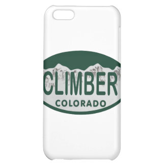 climber license oval iPhone 5C case