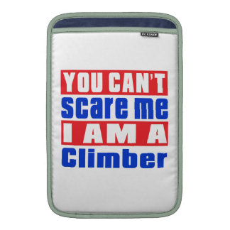 Climber scare designs sleeves for MacBook air