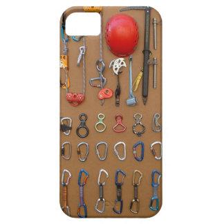 Climber's Equipment -- Mountain Climbing Gear Case For The iPhone 5