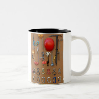 Climbers equipment -- mug for rock climbers